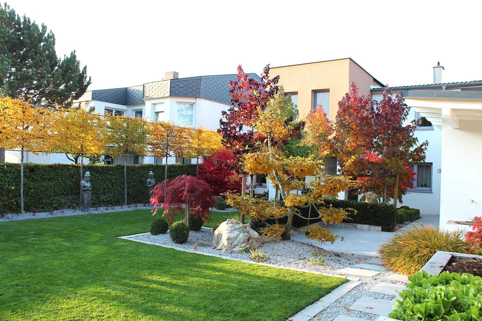Gartenbau Steinpflaster