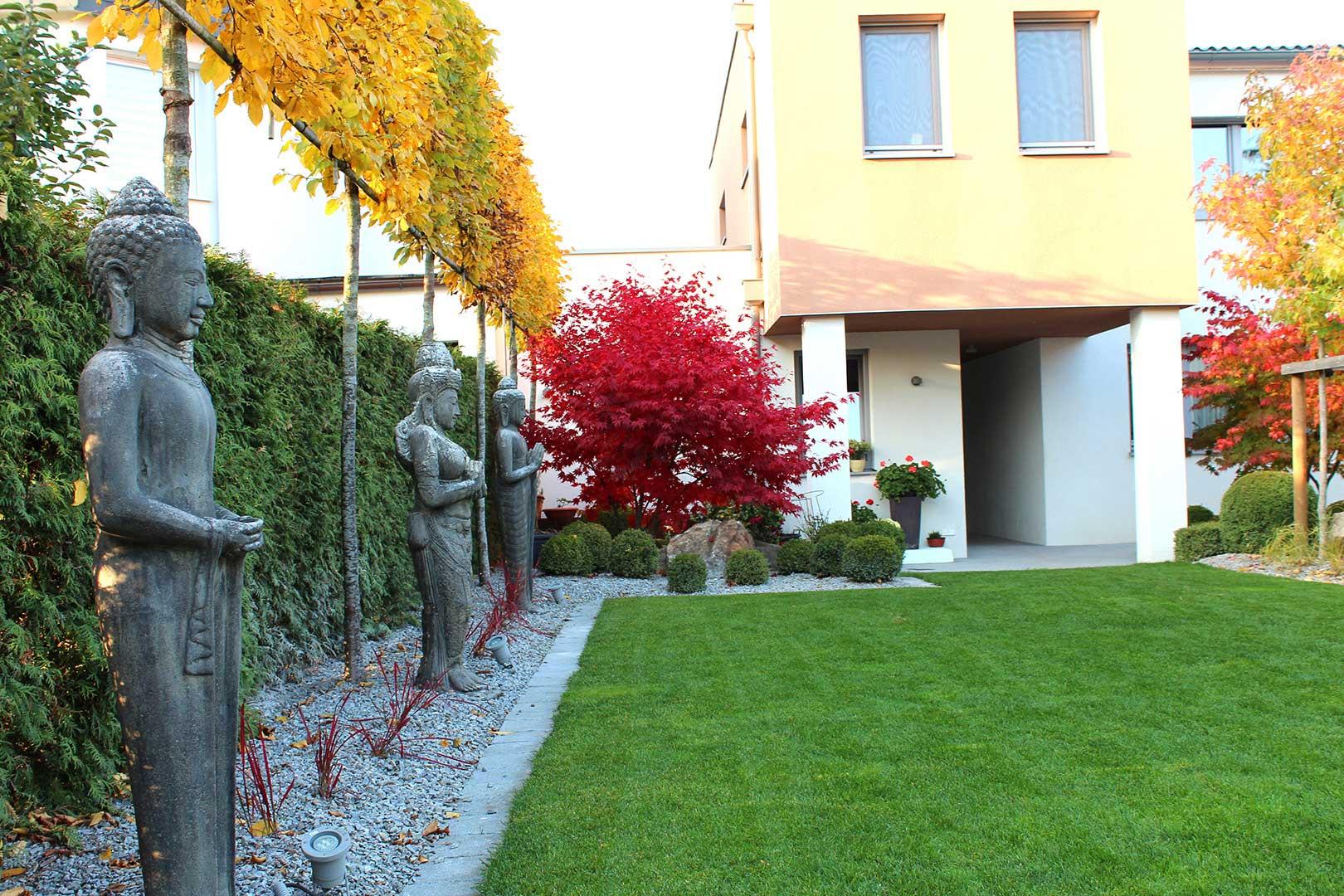 Gartendesign Buddha