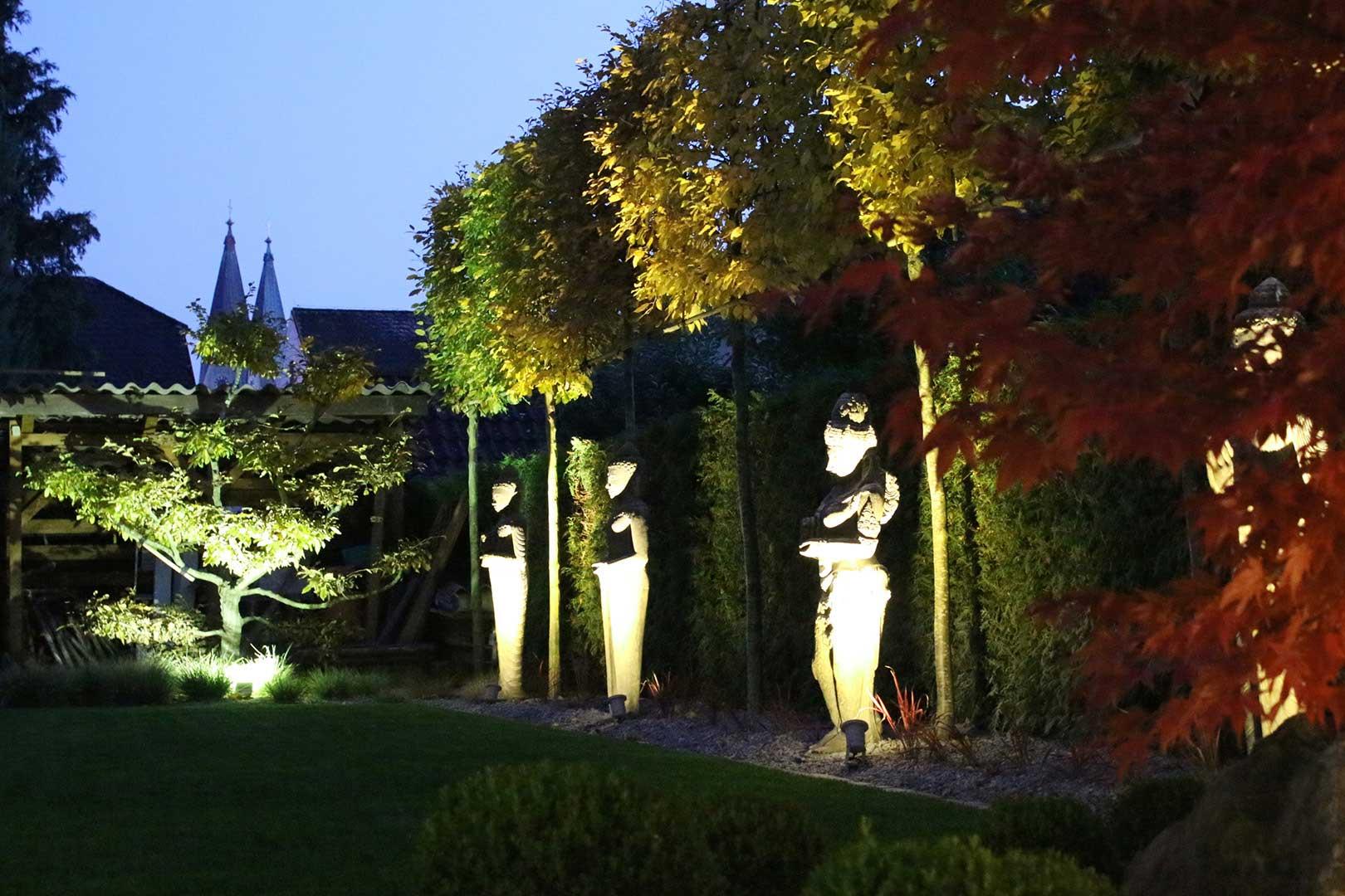 Gartengestaltung Gartenbeleuchtung