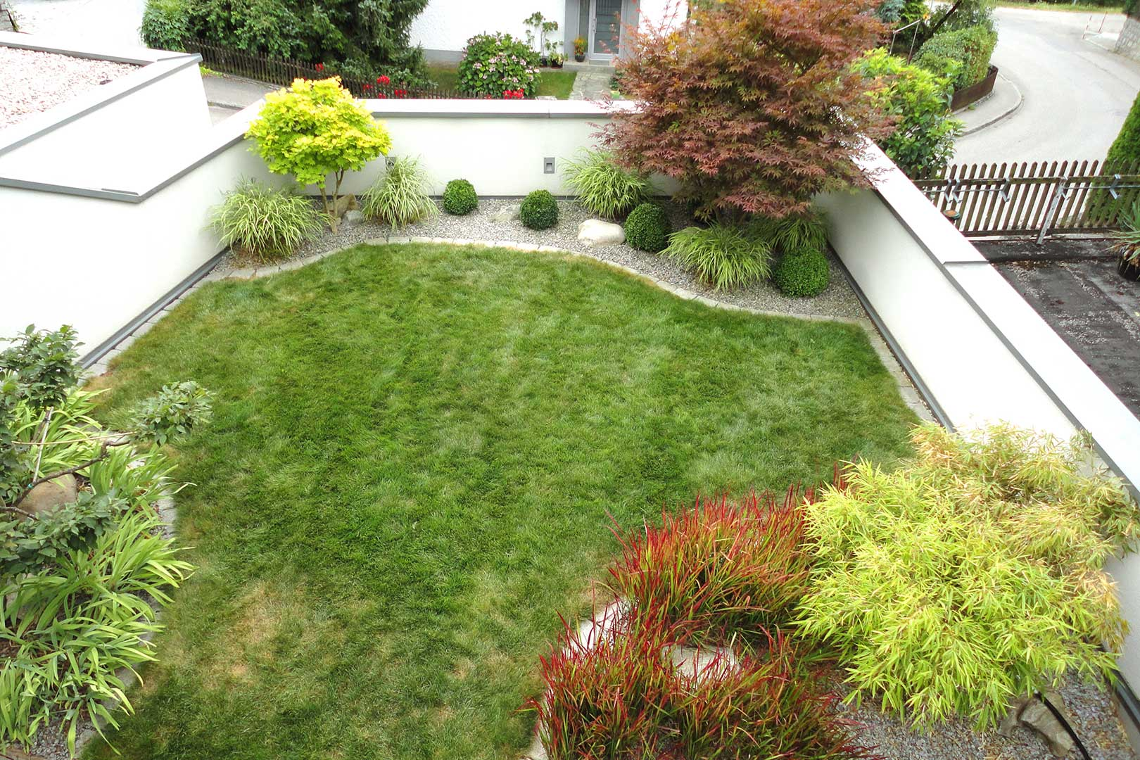 Gartendesign asiatisch