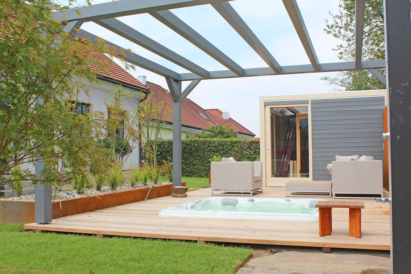 Gartendesign Terrasse