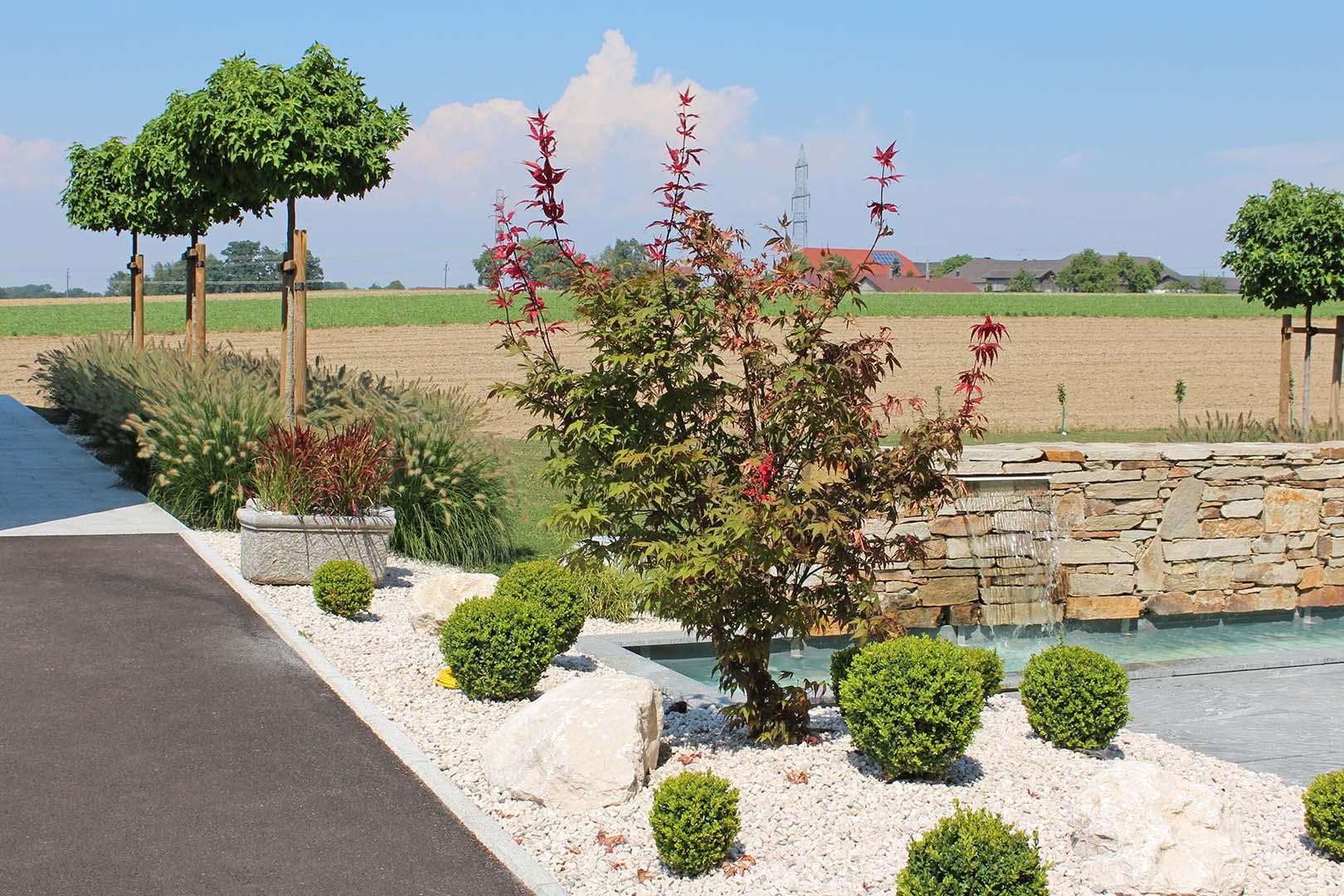 Gartenbau Sträucher