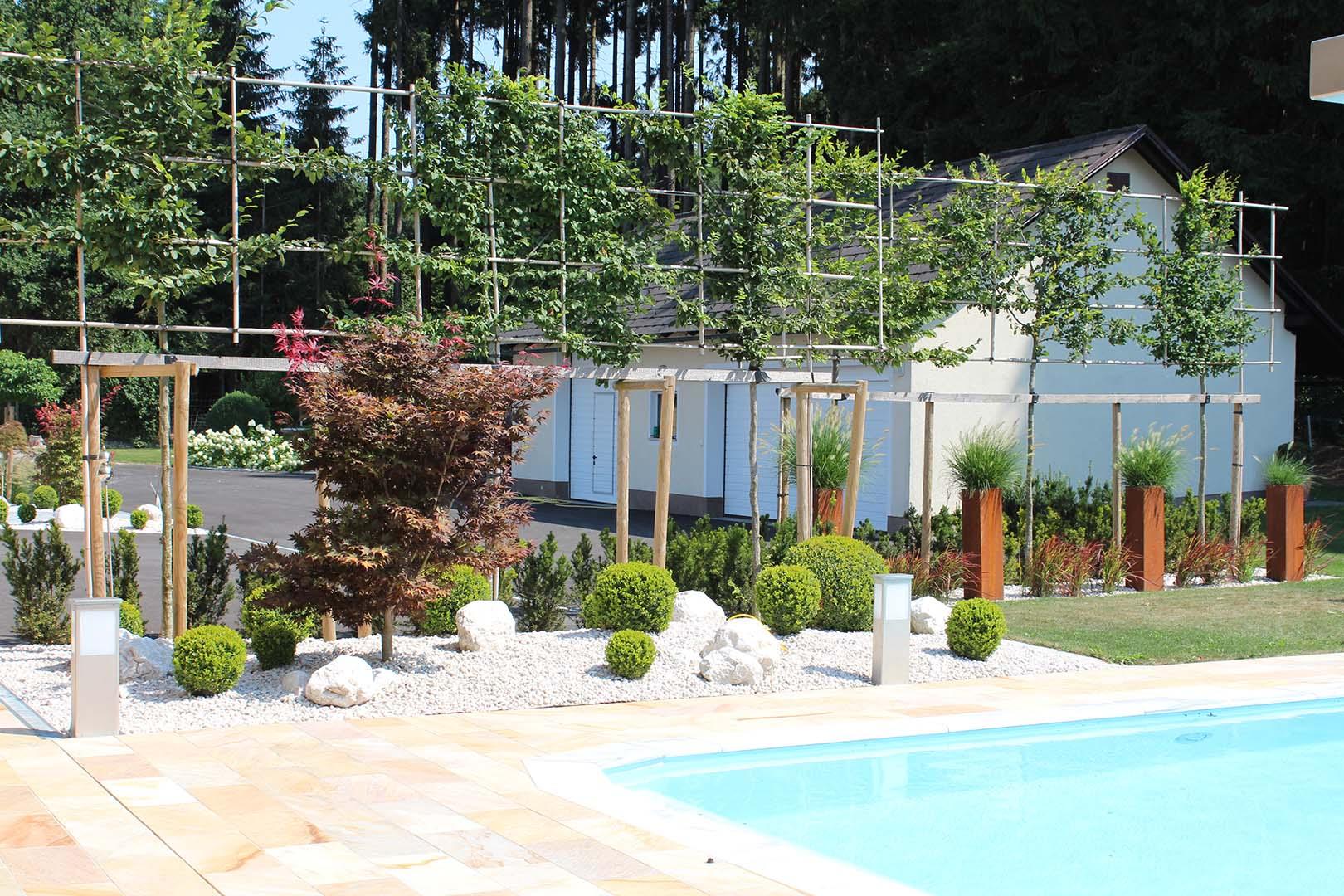 Gartenbau Whirlpool