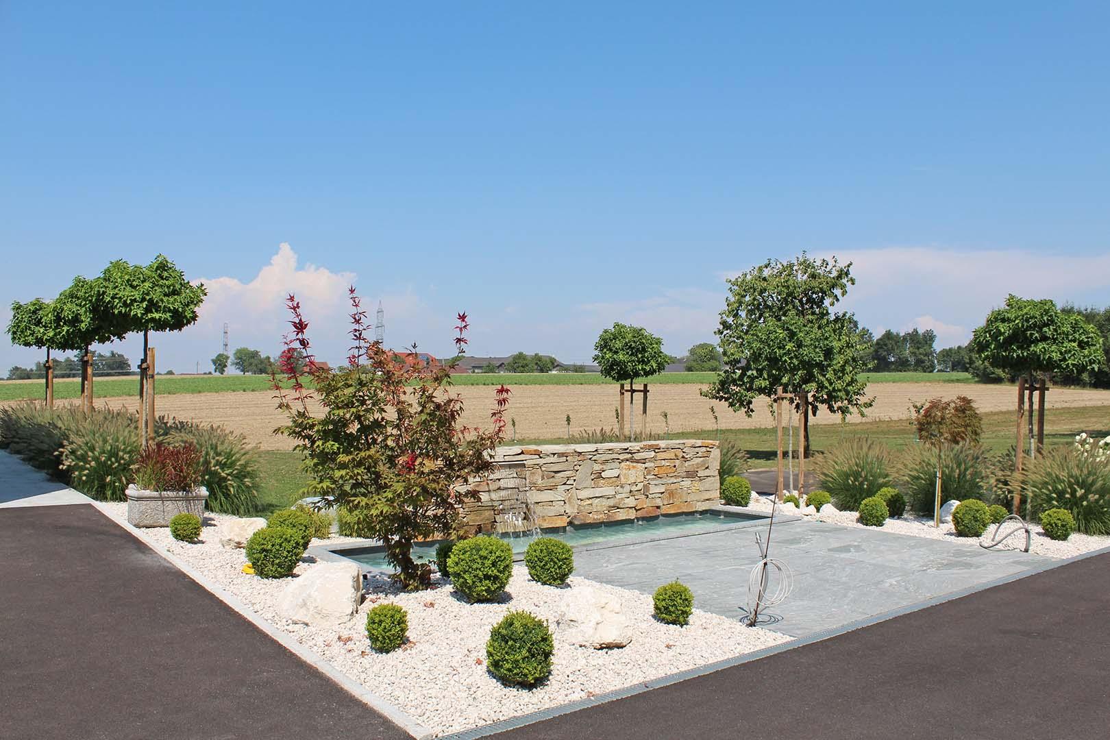 Gartendesign Steinpflaster