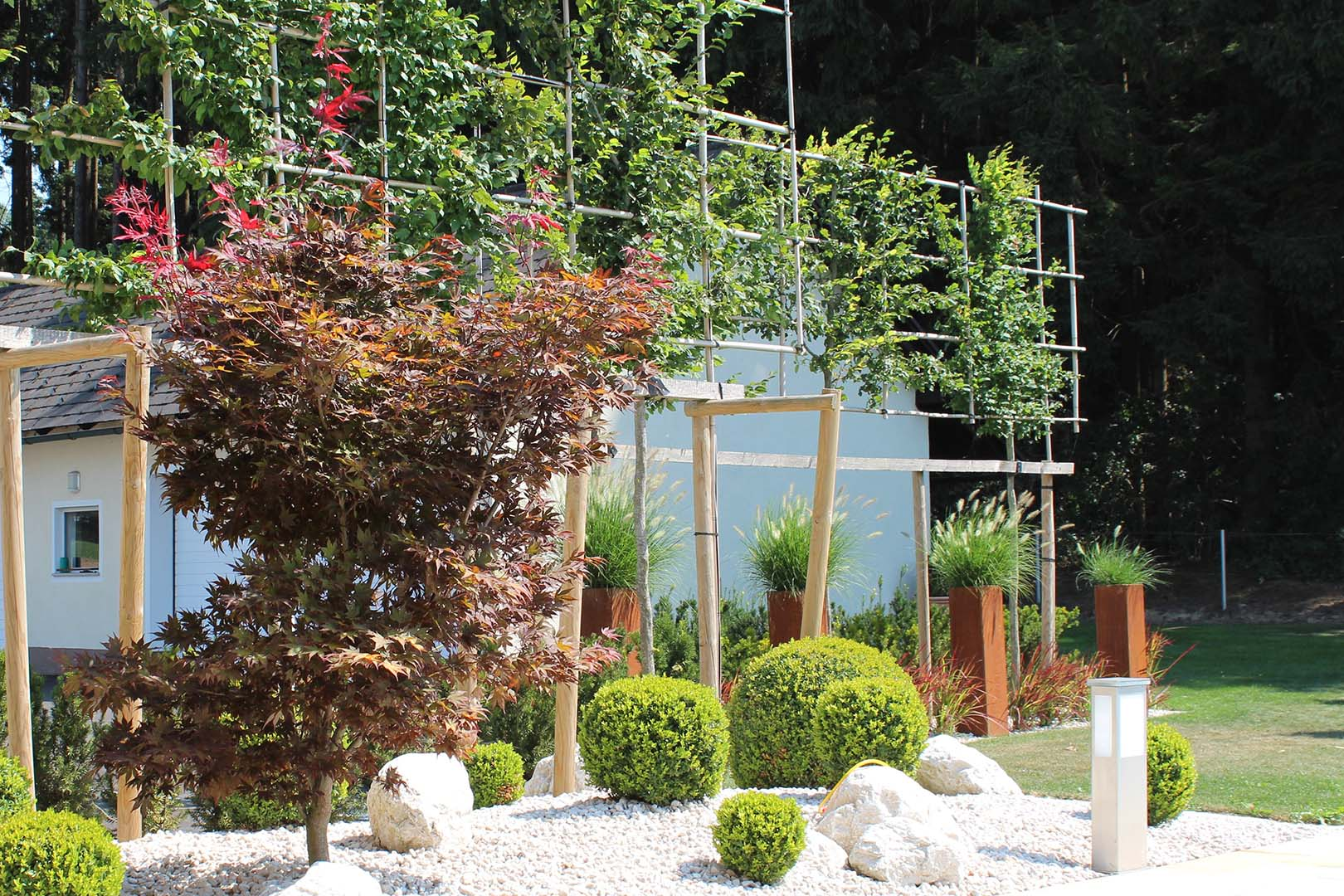 Gartengestaltung Grünpfalnzen
