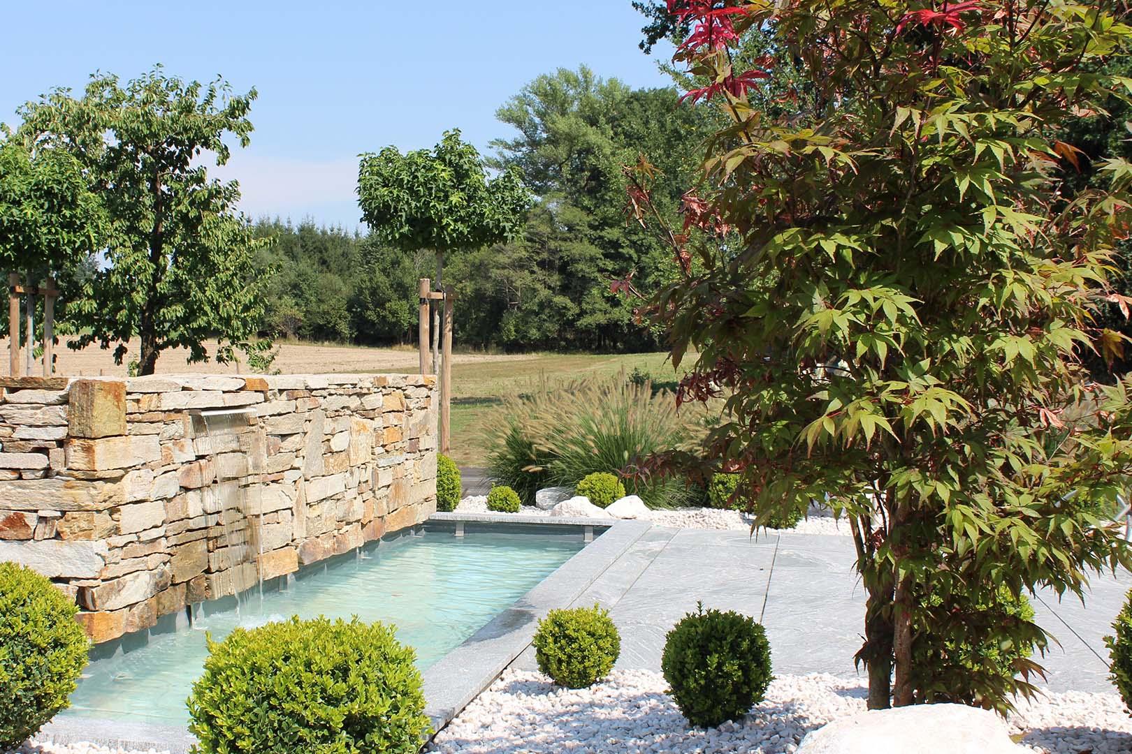 Gartengestaltung Steinarbeiten