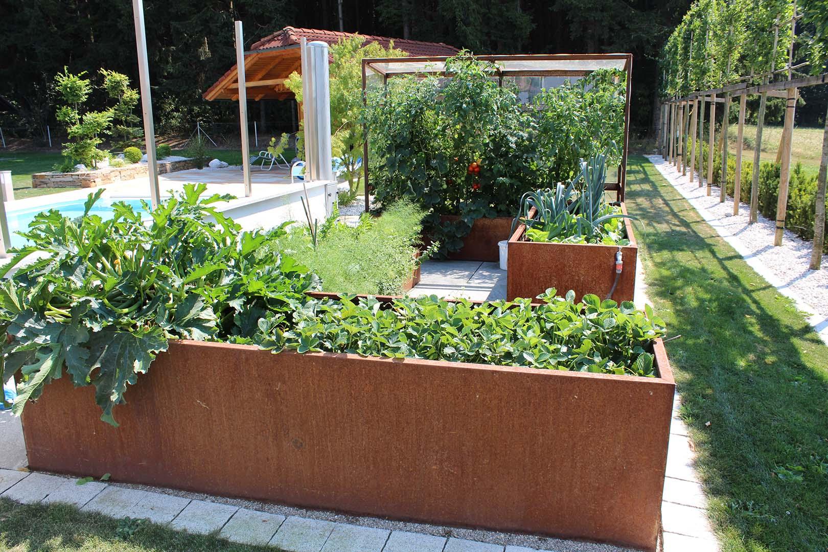 Hausgarten Gemüsebeet