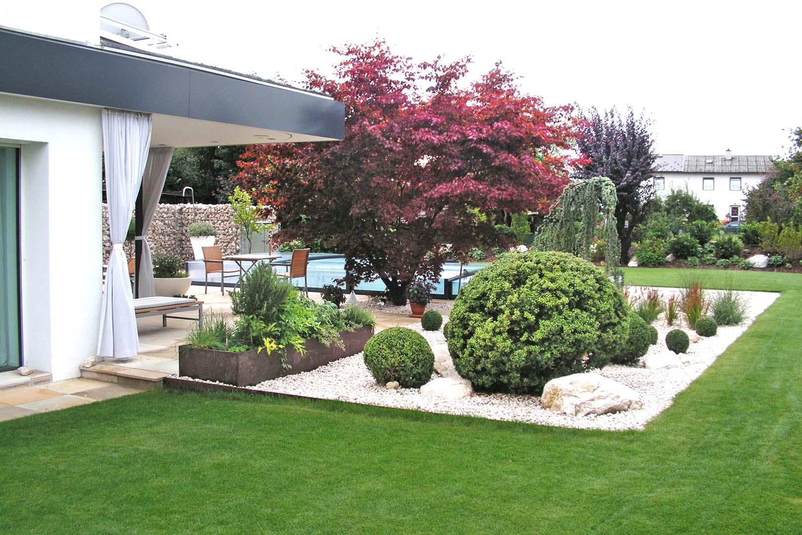 Gartenbau Rasenfläche
