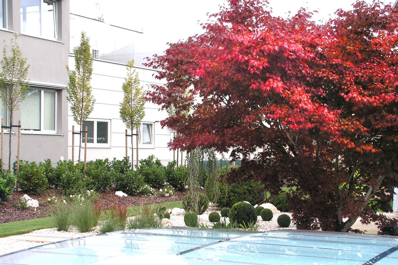 Gartendesign Pool