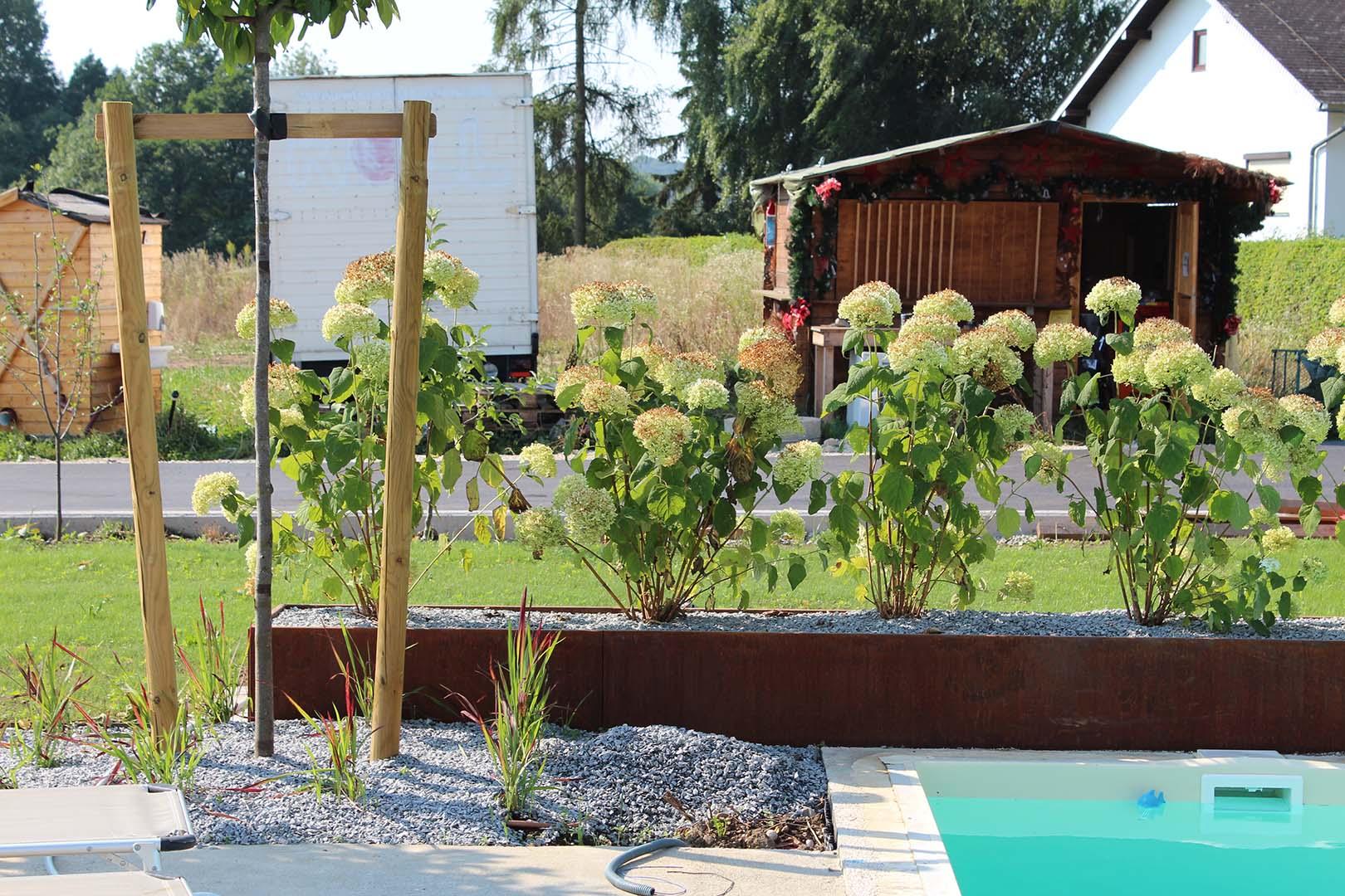 Gartenplanung Blumenbeet