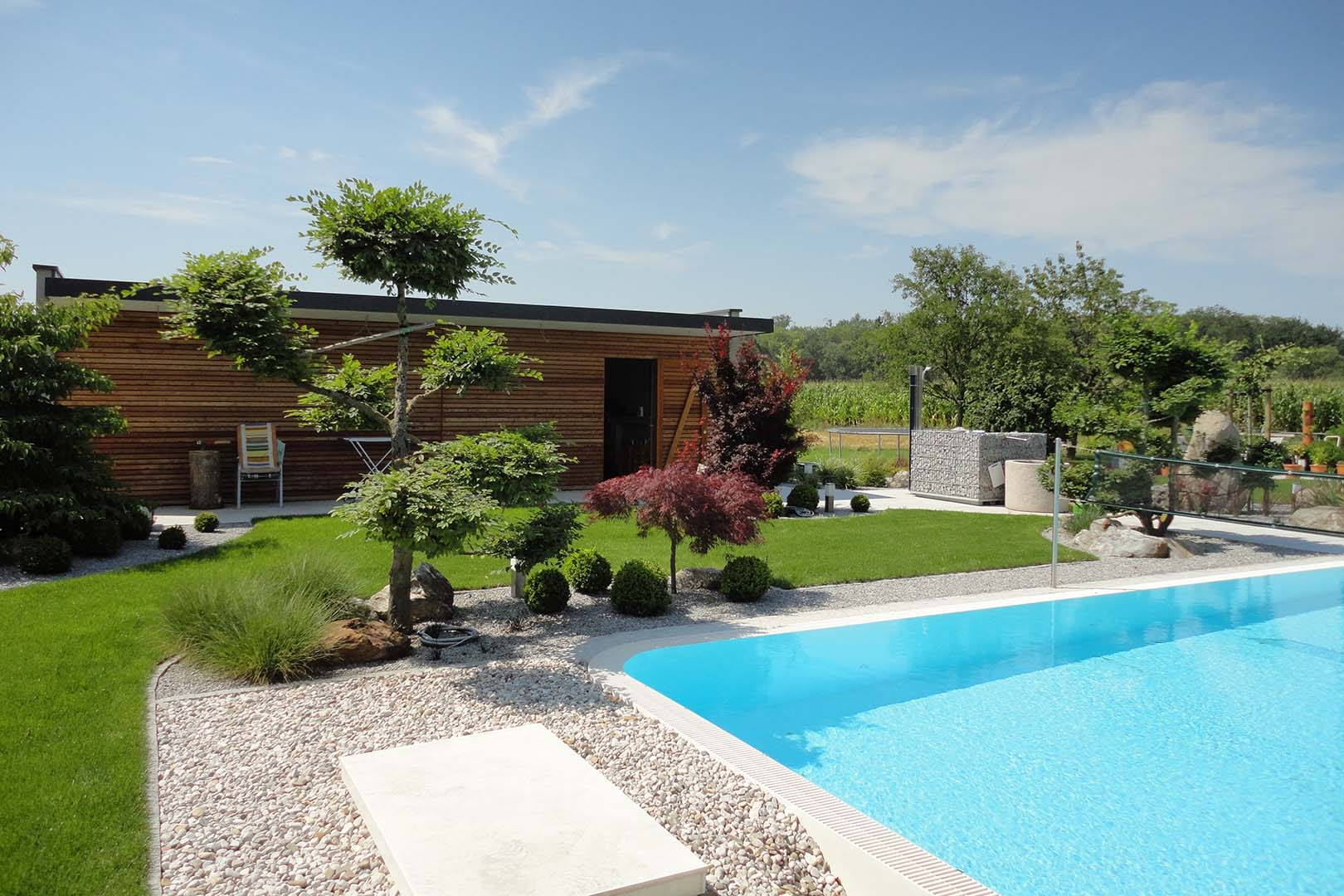 Gartendesign Swimmingpool