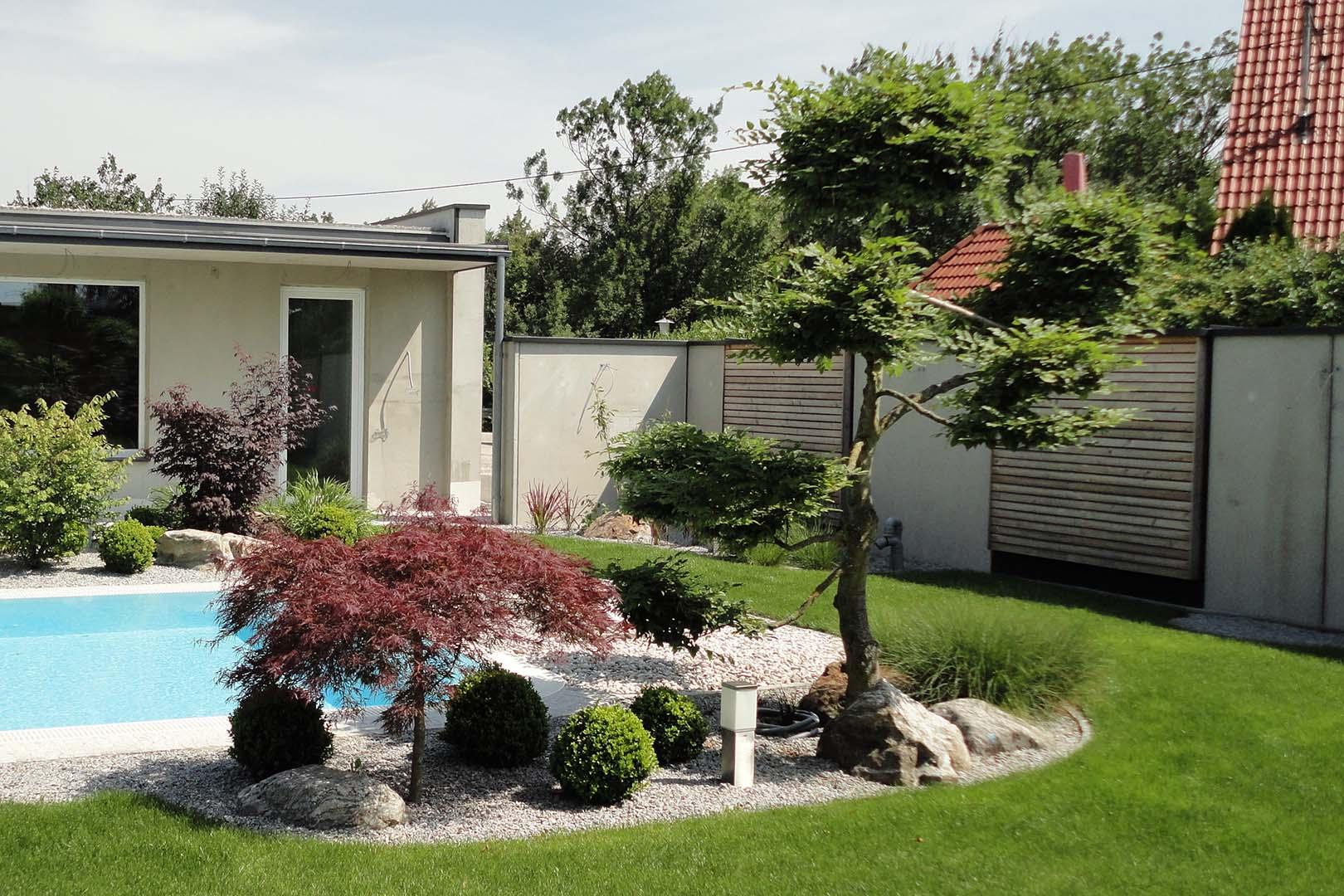 Gartendesign Whirlpool