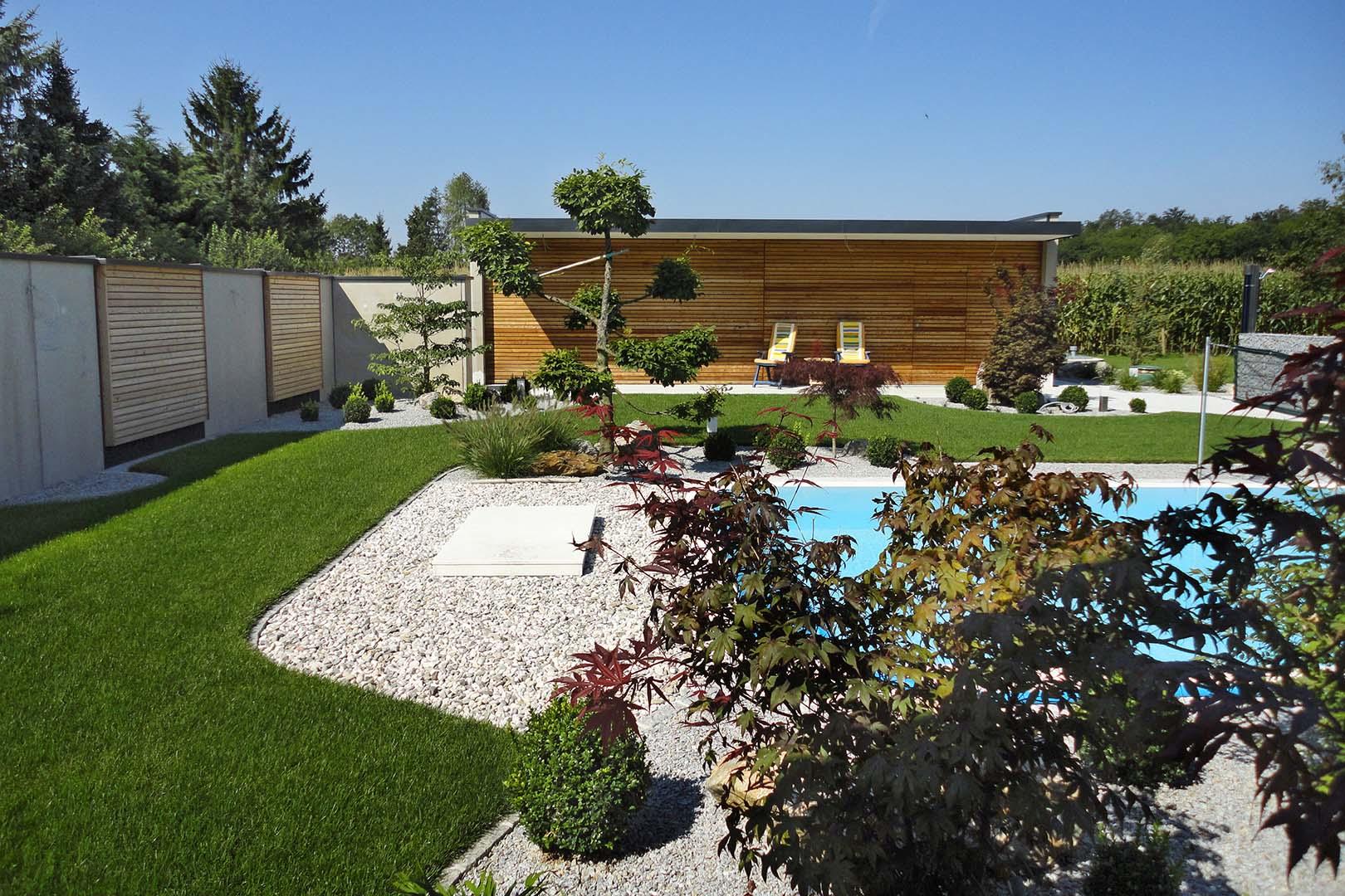 Gartengestaltung Außenbereich