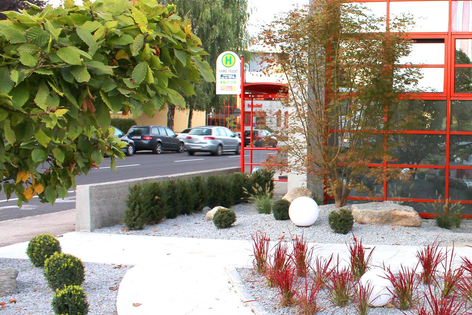 Gartendesign Außenbereich