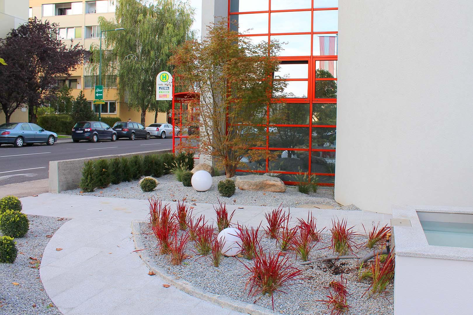 Gartendesign Steinbeet