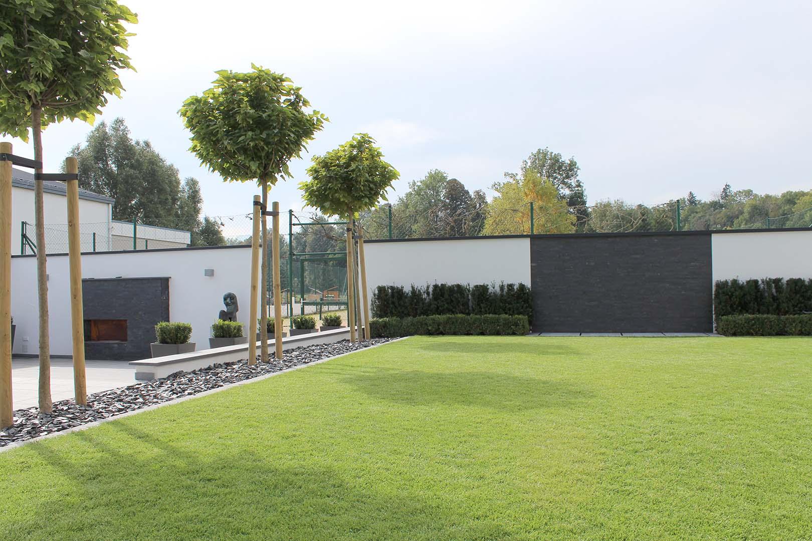 Gartenbau Mauerbau