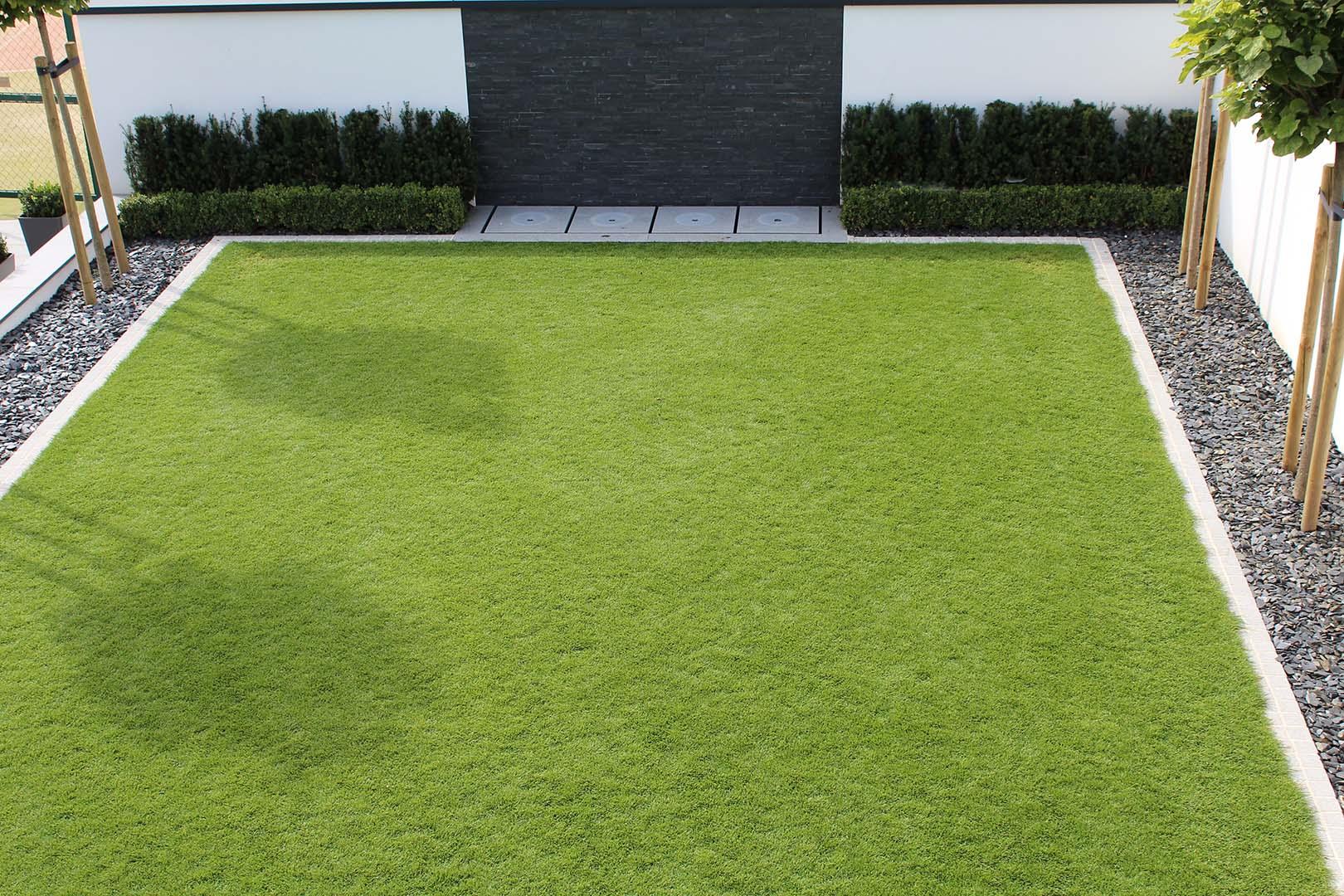 Gartendesign Rasenfläche