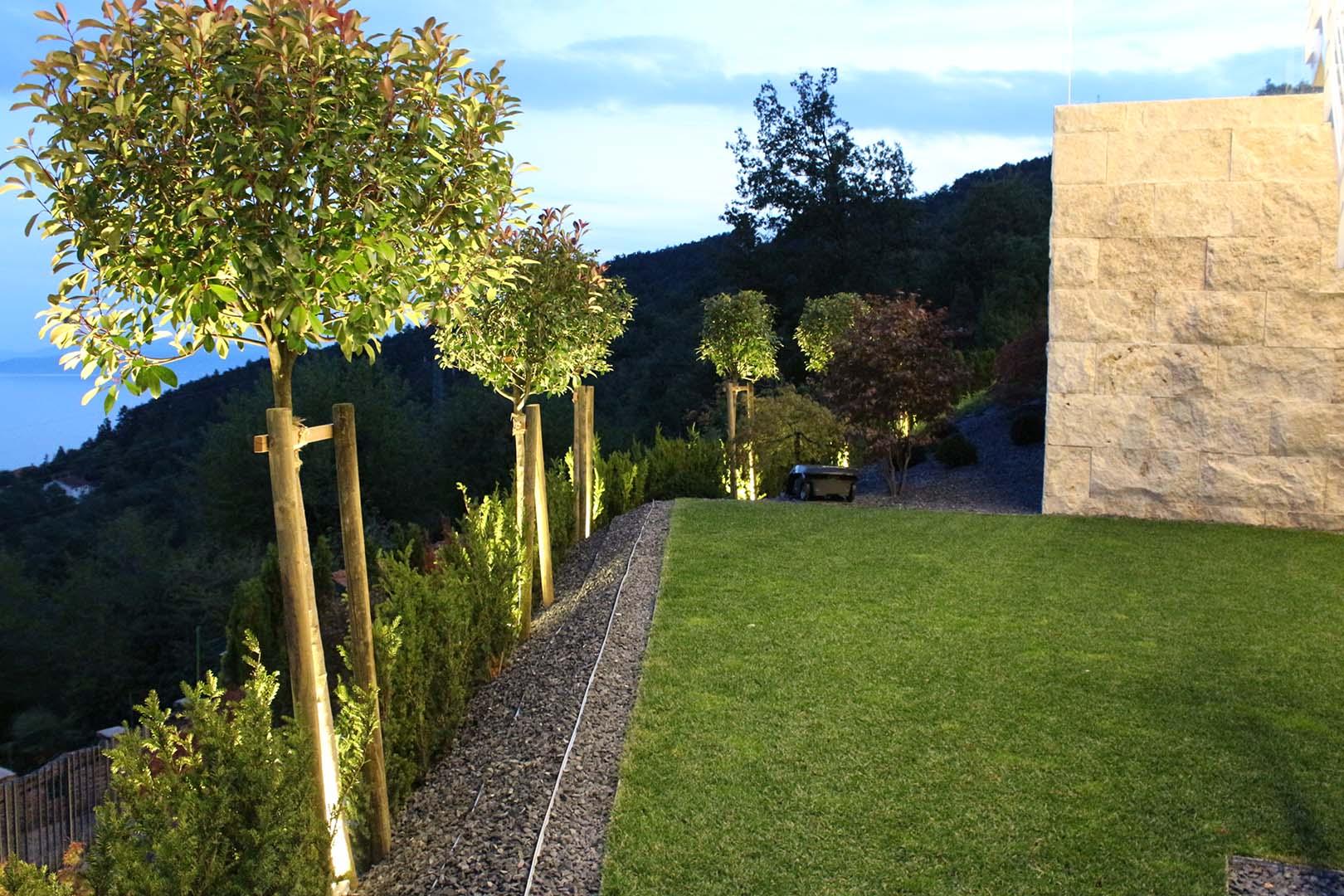 Gartenplanung Einfassung